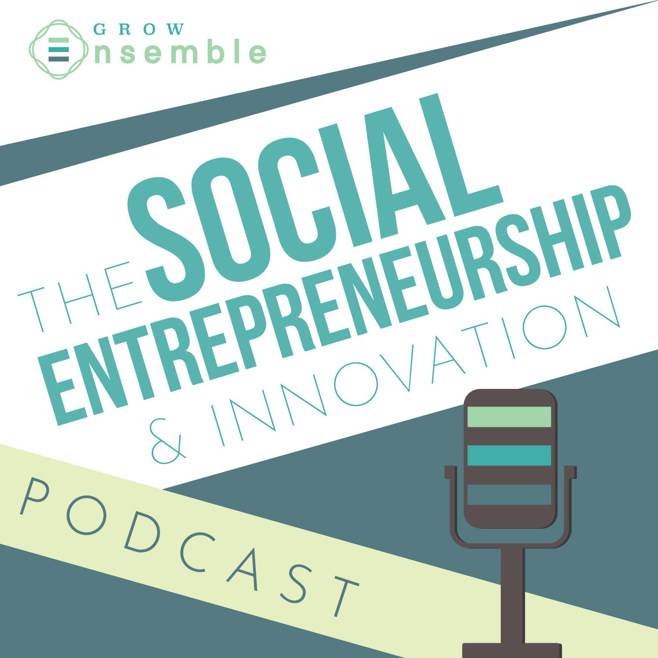 social entrepreneurship and innovation podcast cover