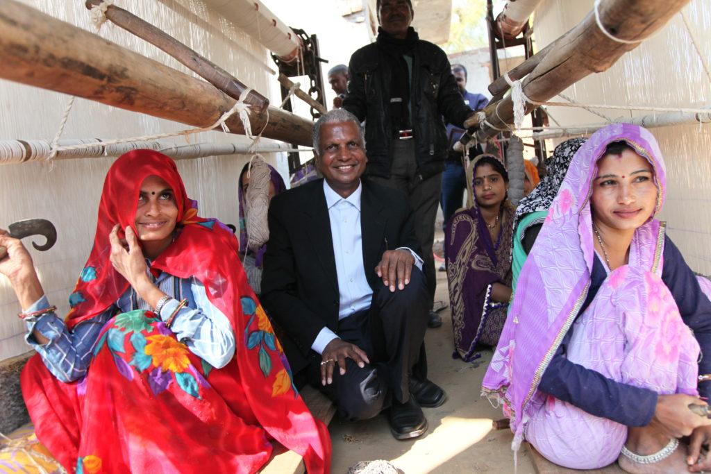 nand kishore chaudhary and weavers