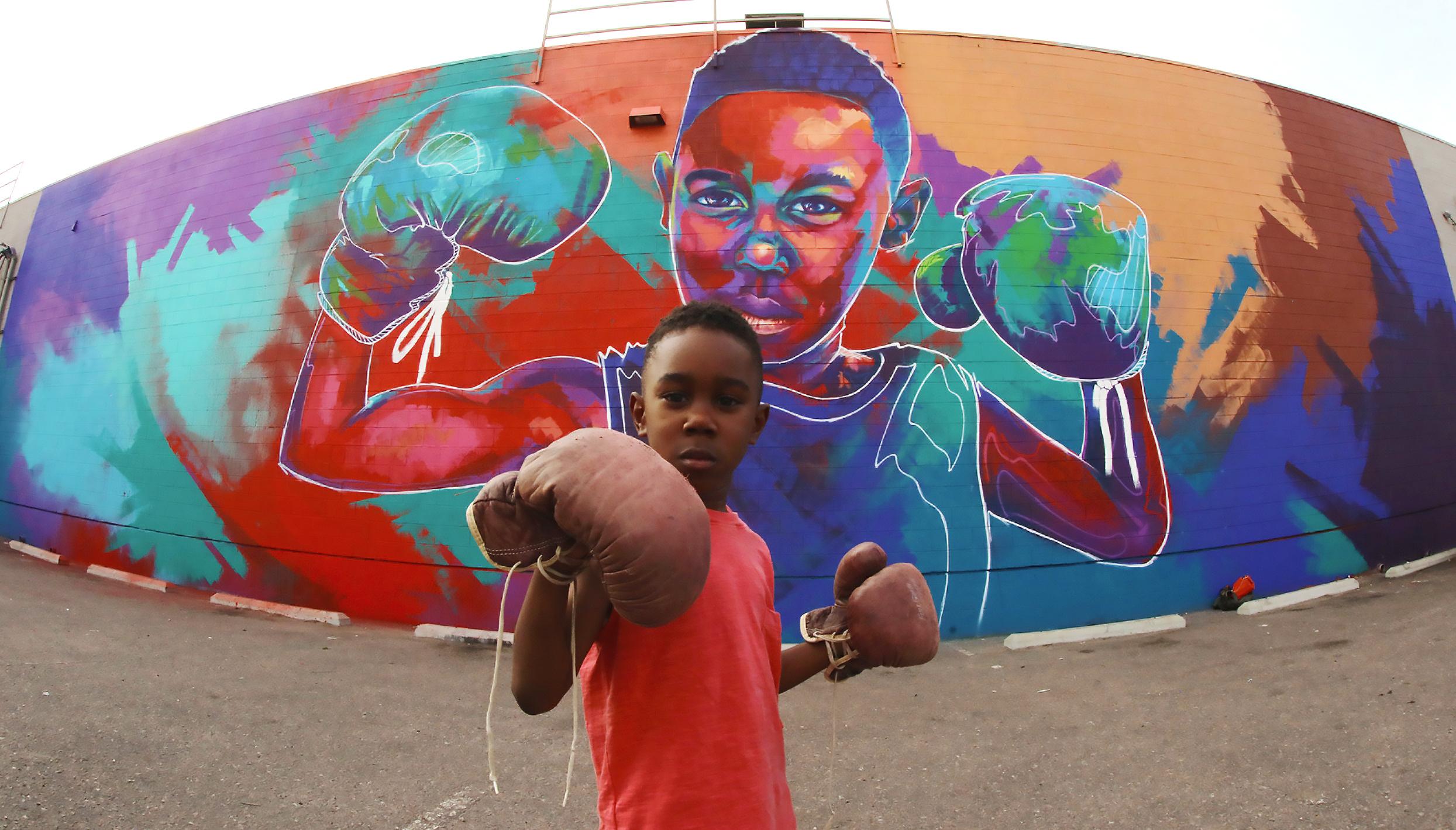 britton graham mural
