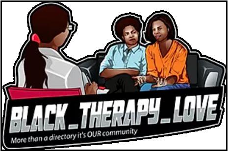 Black Therapy Love logo